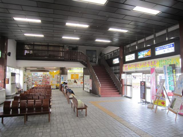 指宿駅舎内部