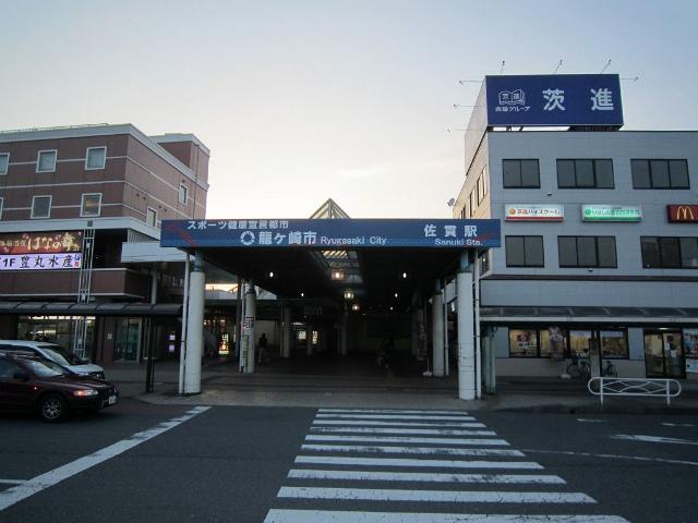 佐貫東口駅舎