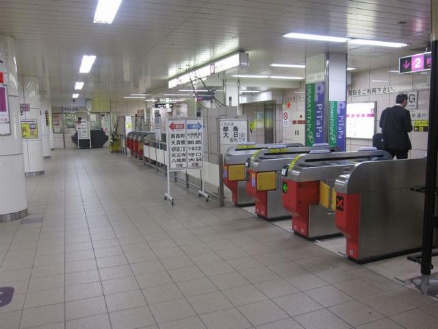 東梅田駅 中西