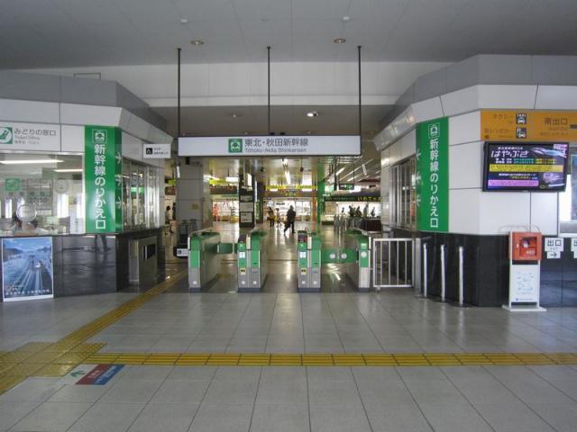盛岡新幹線乗換改札