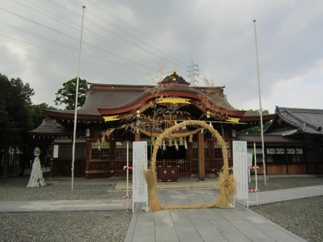 田県神社前神社本殿