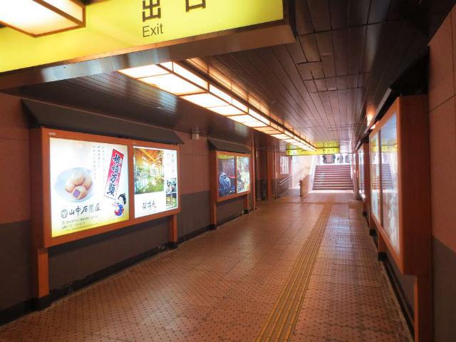 加賀温泉 通路