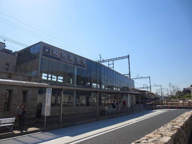 御影 駅舎