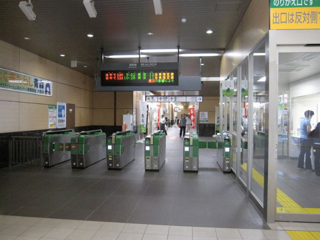 新青森駅 新幹線乗り換え改札