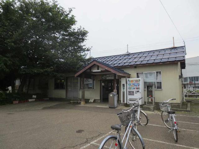 脇野田 駅舎