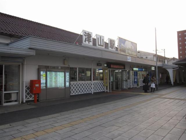 津山 駅舎