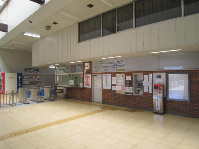新守谷駅舎内部
