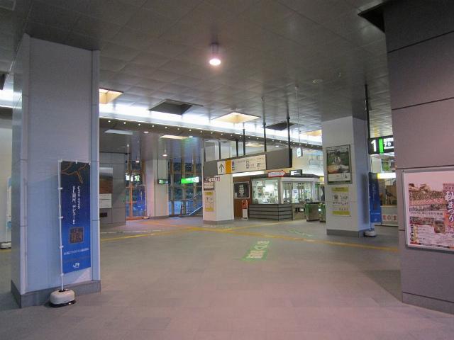沼宮内新幹線コンコース