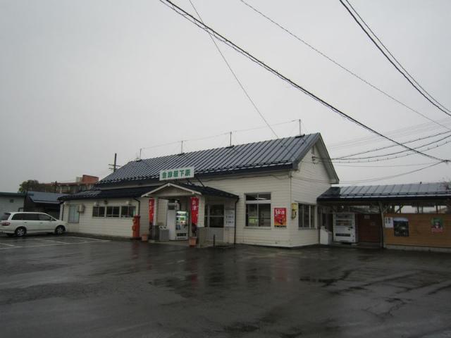 会津坂下駅舎