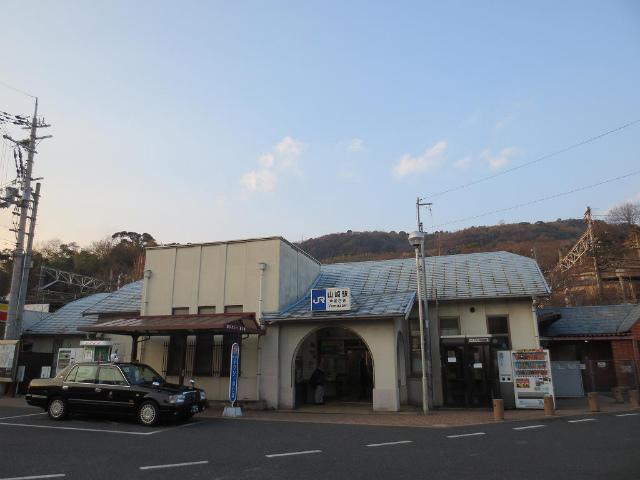 山崎 駅舎