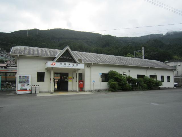 中部天竜駅舎