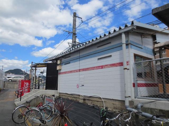 中島 駅舎