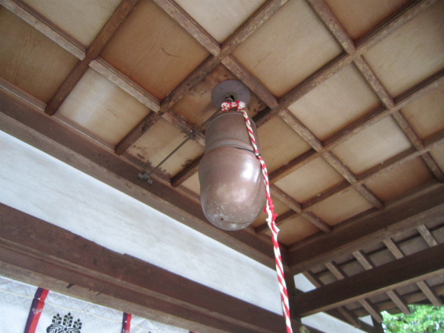 田県神社前鐘