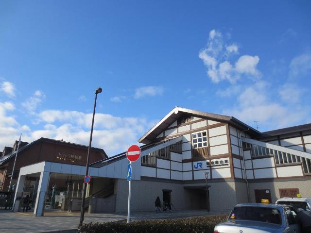 嵯峨嵐山 駅舎