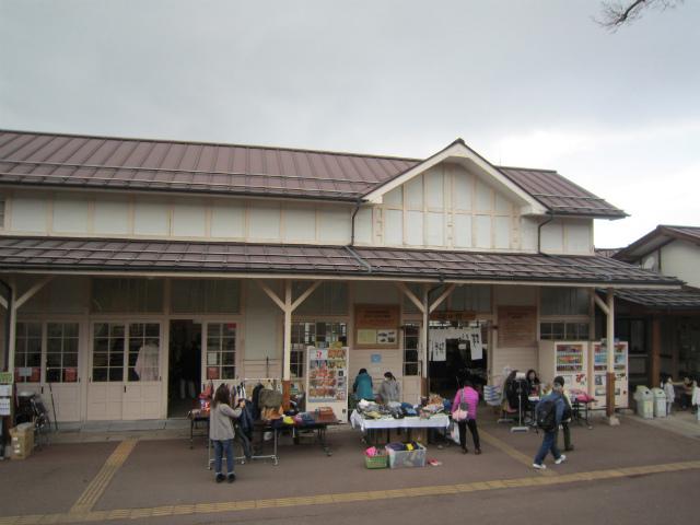 湯田中旧駅舎