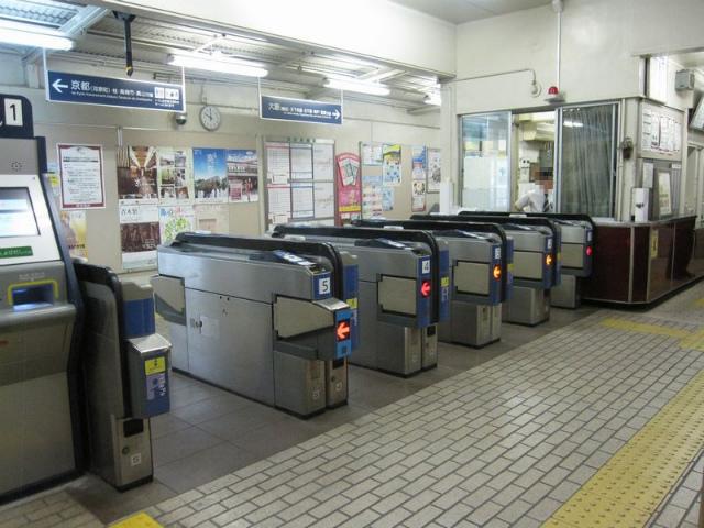総持寺駅 改札