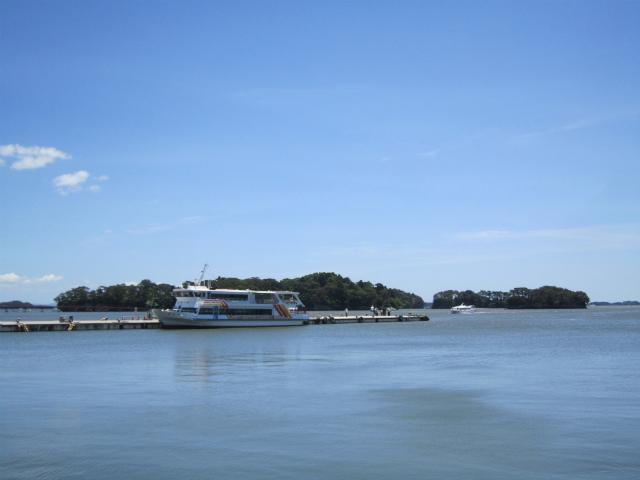 松島海岸 ああ松島や 松島や