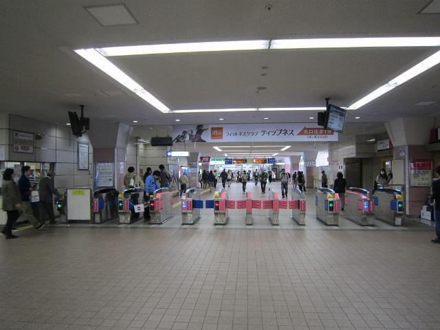 二俣川改札