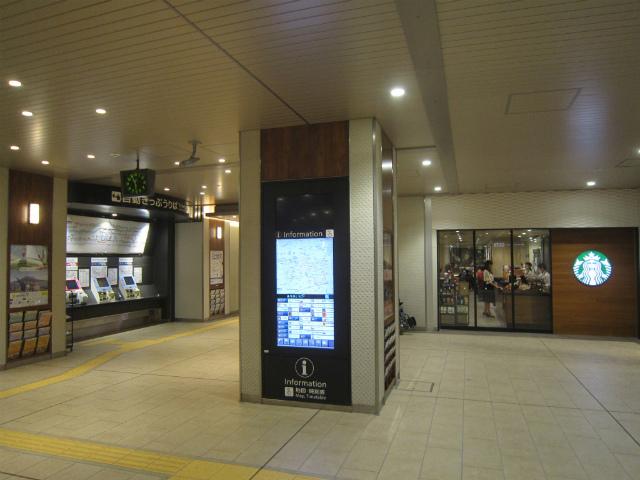 桃谷駅舎内部