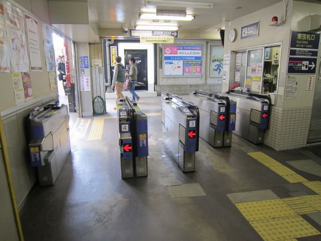 淡路駅 東