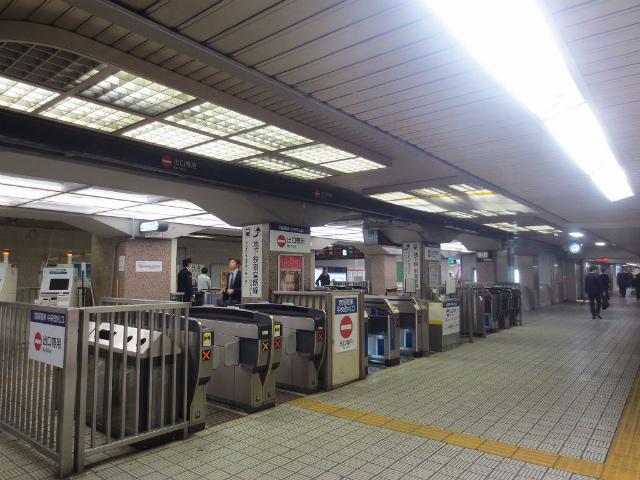 淀屋橋 京阪中央改札 出口