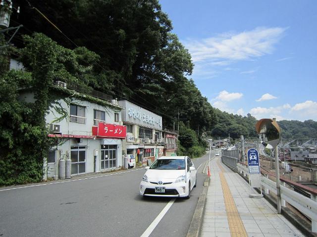 上野原ロータリーから駅前